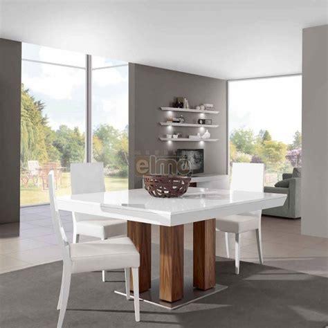 Formidable Salle A Manger Bois Et Chiffon #2: table-salle-a-manger-moderne-carree-extensible-laque-et-chene-vega.jpg