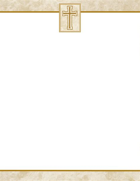 Stationery Letterhead Cake Ideas And Designs Church Stationery Templates