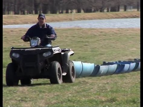inexpensive portable cattle feeder youtube
