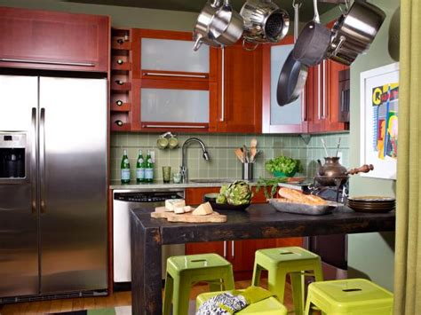 Clever Storage Ideas For Small Kitchens Small Kitchen Cabinets Pictures Ideas Amp Tips From Hgtv