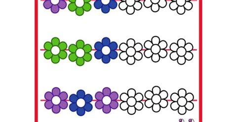 color pattern recognition pattern worksheet color fill in 2 kindergarten colors