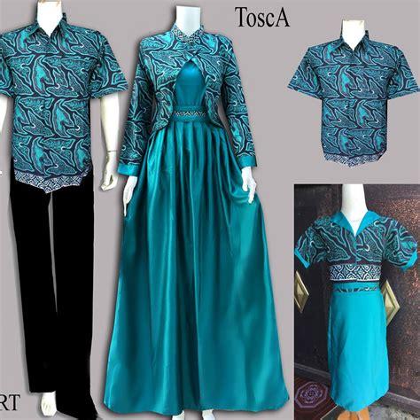 Longdress Batik Pesta Batik Modern 25 model baju batik gamis modern terbaru 2018
