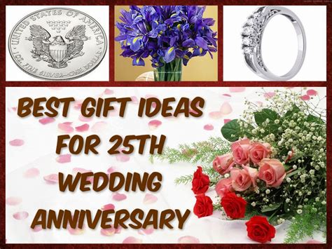 25th wedding anniversary gift ideas wedding anniversary gifts best gift ideas for 25th