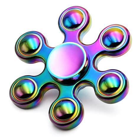 Sale Spinner Model Permata rainbow alloy figet spinner finger edc fidget spinner autism adhd gyro ebay
