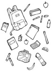 Coloring Pages Of School Supplies the spinsterhood diaries october 2015