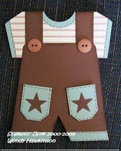 diy baby overalls card template 157 best stin up baby cards images on