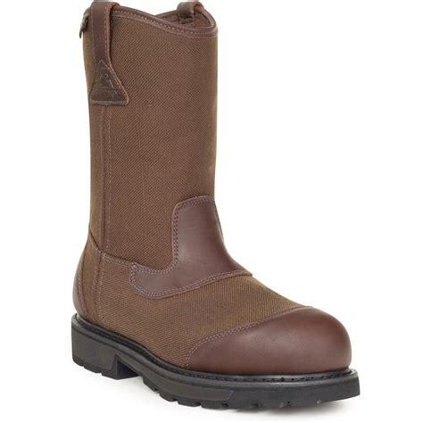 wellington steel toe boots s work boots rocky steel toe waterproof wellington