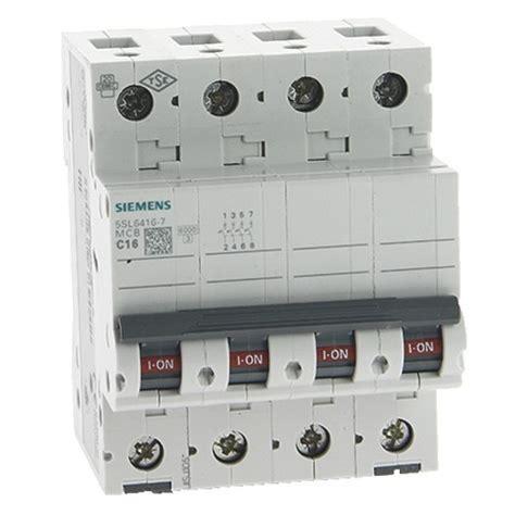 Si鑒e Balan輟ire B饕 Disjoncteur T 233 Trapolaire Siemens 16a Courbe C 6ka 400v