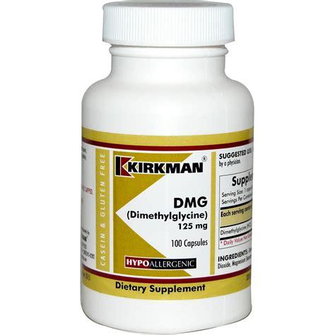 Suplemen Dmg kirkman labs dmg dimethylglycine 125 mg 100 capsules