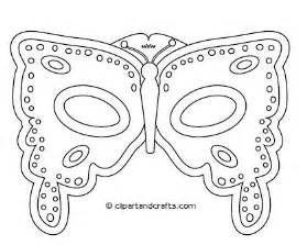 Butterfly Mask Template by Butterfly Mask Template Flickr Photo