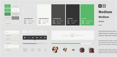 design guidelines net 25 inspirational exles of ui style guides