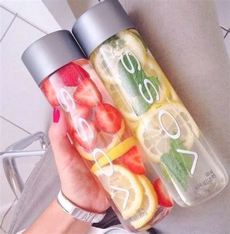 Strawberry Lemon Lime Mint Detox Water by Creatively Healthy Smoothies Salads And Infused Fruit Waters