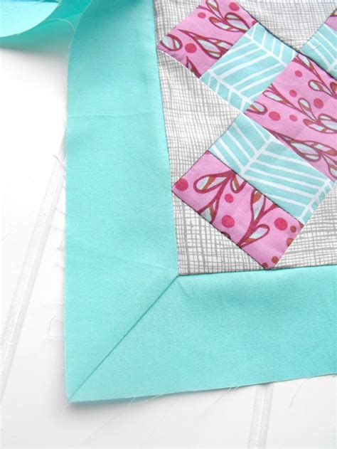 How To Make Quilt Borders by Mitered Quilt Borders A Sewing Step By Step Tutorial