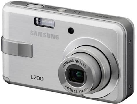 Kamera Digital Samsung L700 samsung l700 digital pocket lint