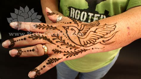 bird design henna kelly caroline