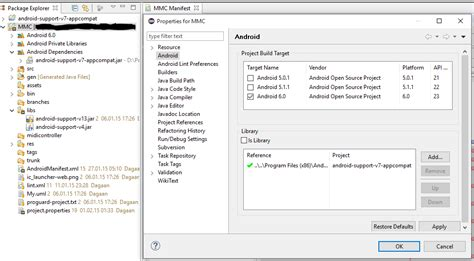invalid layout of java lang classloader at identityhashcode java lang noclassdeffounderror android support v7 app