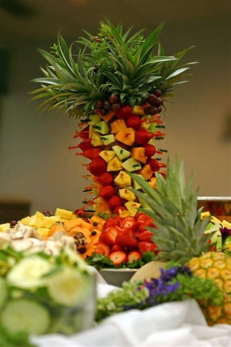 fresh fruit tree display fruit displays for wedding receptions