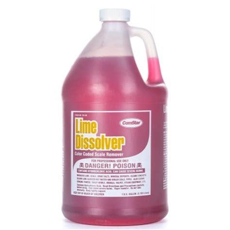 Dissolver Floor Remover - lime dissolver scale remover 1 gallon 4