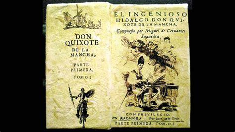 don quijote de la mancha audio libro primera parte youtube