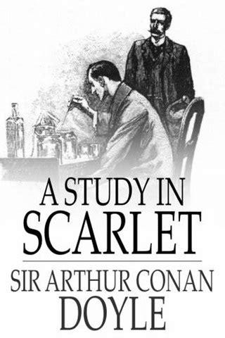 a study in scarlet the sherlock series sherlock a study in scarlet spoilers book book