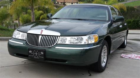 how cars run 1998 lincoln town car user handbook 1 owner 1998 lincoln town car 43k orig miles executive baby limo youtube