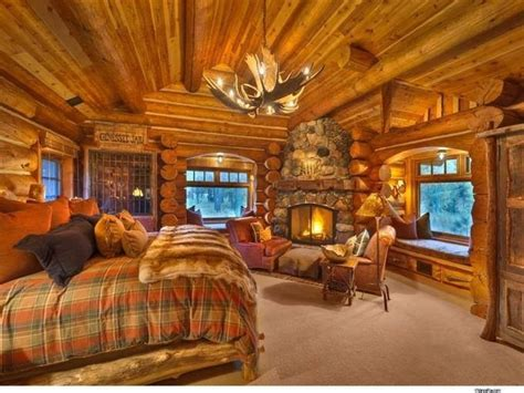 nice master bedrooms nice master bedroom log cabin dream pinterest