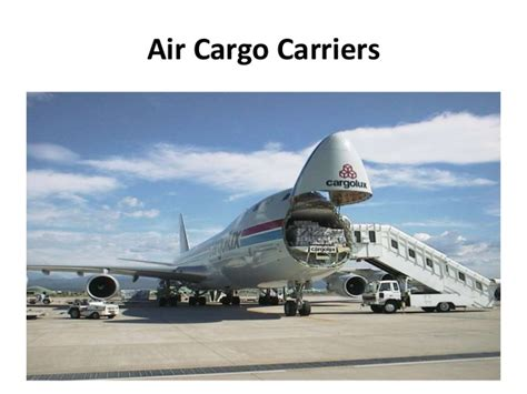 air cargo overview ppt