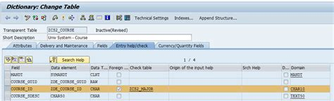 Create Table Foreign Key by How To Creating Foreign In Sap Table Sap Tutorial