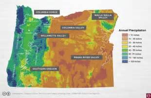 oregon temperature map climate oregon wine resource studio
