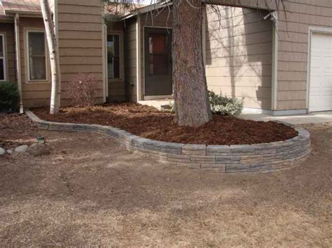garden bed retaining wall retaining walls and raised garden bed edging four