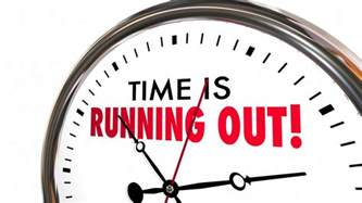 time is running out clock deadline ending soon 3 d