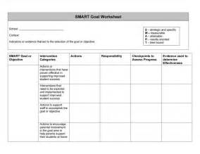 smart templates 48 smart goals templates exles worksheets template lab