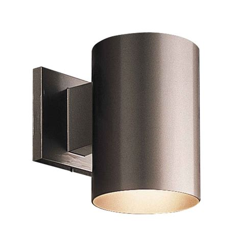 up down bronze cylinder outdoor wall light progress lighting cylinder antique bronze outdoor wall