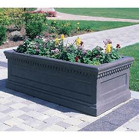 Large Rectangular Concrete Planters by Outdoor Furniture Equipment Planters Wausau Tile
