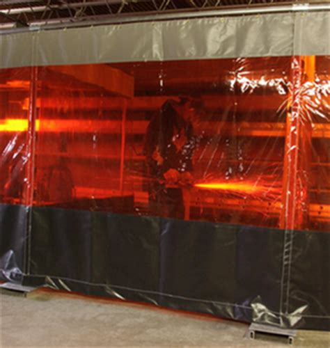 welding shield curtain our welding curtains provide protection from uv and near