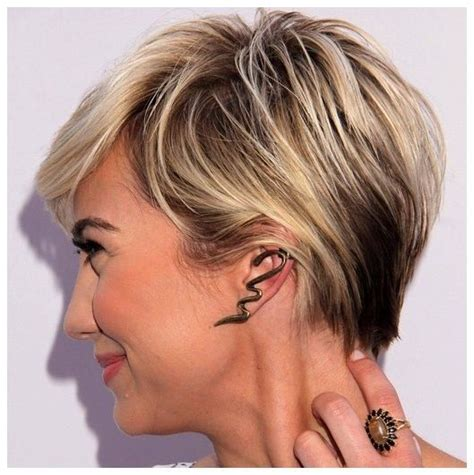 highlights in very short hair 19 best images about short blonde hairstyles on pinterest