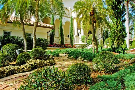 landscape ideas south florida front yard garden design