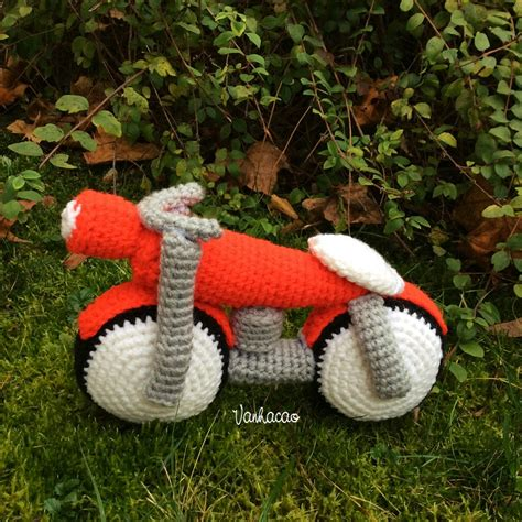 Motorcycle Baby Shower Gift by Motorcycle Handmade Amigurumi Crochet Motorbike Home