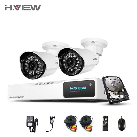 h view hd home security system with 1tb hdd 4