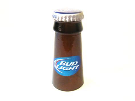 bud light light up glass bud light shot glass made from recycled beer bottles
