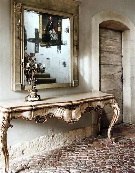 Entry Console Table With Mirror Natalie Interior Design Entry Consoles