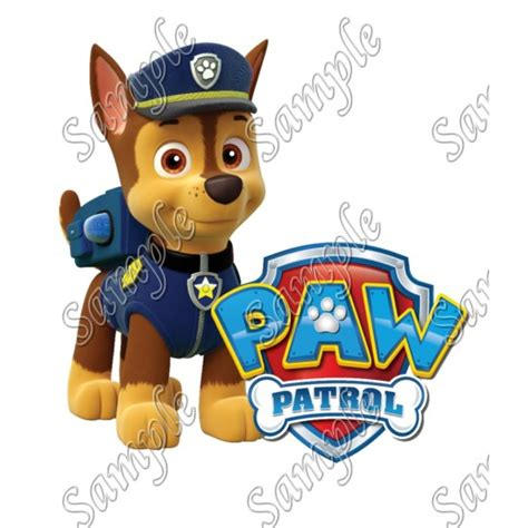 Personalized Iron On Transfers Paw Patrol Chase T Shirt Paw Patrol Captain America Iron