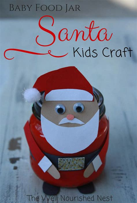 santa crafts 33 easy to make santa crafts all about