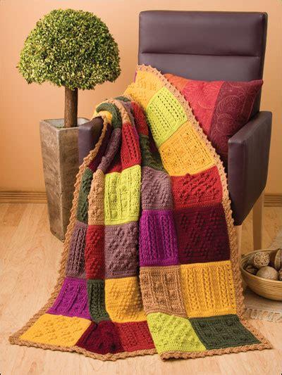 Patchwork Square Afghan - crochet patchwork squares afghan ec00594