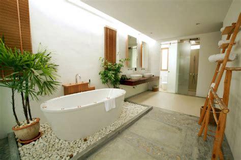 salle de bain avec galet salle de bain