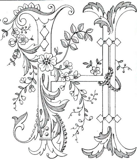 pattern library color fancy monogram link to antique pattern library all