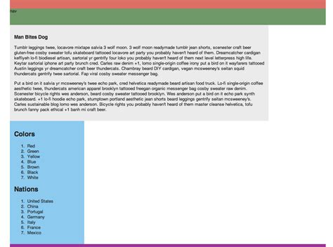tutorial css div layout css layout with html5 berkeley advanced media institute