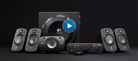 logitech  home theater  surround sound system