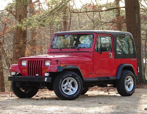 1990 jeep wrangler information and photos momentcar
