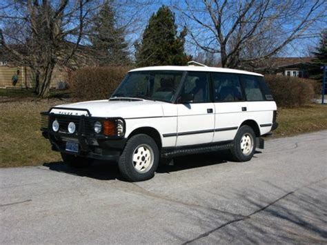 how to learn about cars 1993 land rover range rover classic lane departure warning 1993 land rover range rover information and photos momentcar